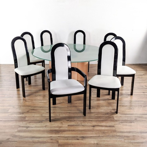 Used Roche Bobois Nine-Piece Dining Set for sale on AptDeco