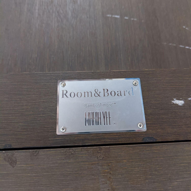Room & Board / Crate & Barrel Dining Set - image-2