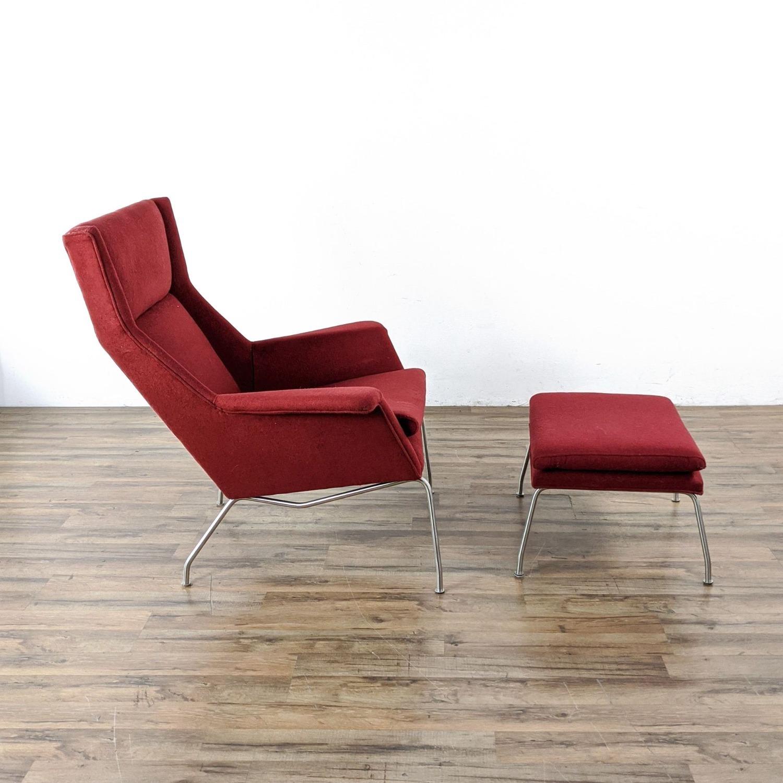 Room & Board Aidan Chair and Ottoman - image-3