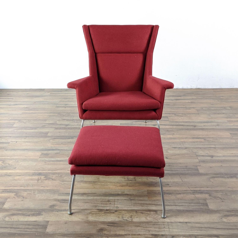 Room & Board Aidan Chair and Ottoman - image-4