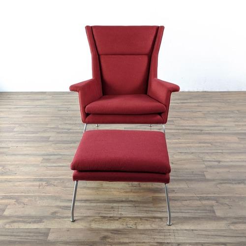 Used Room & Board Aidan Chair and Ottoman for sale on AptDeco