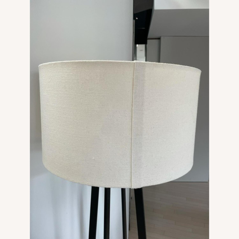 Crate & Barrel Castillo Black Floor Lamp - image-6