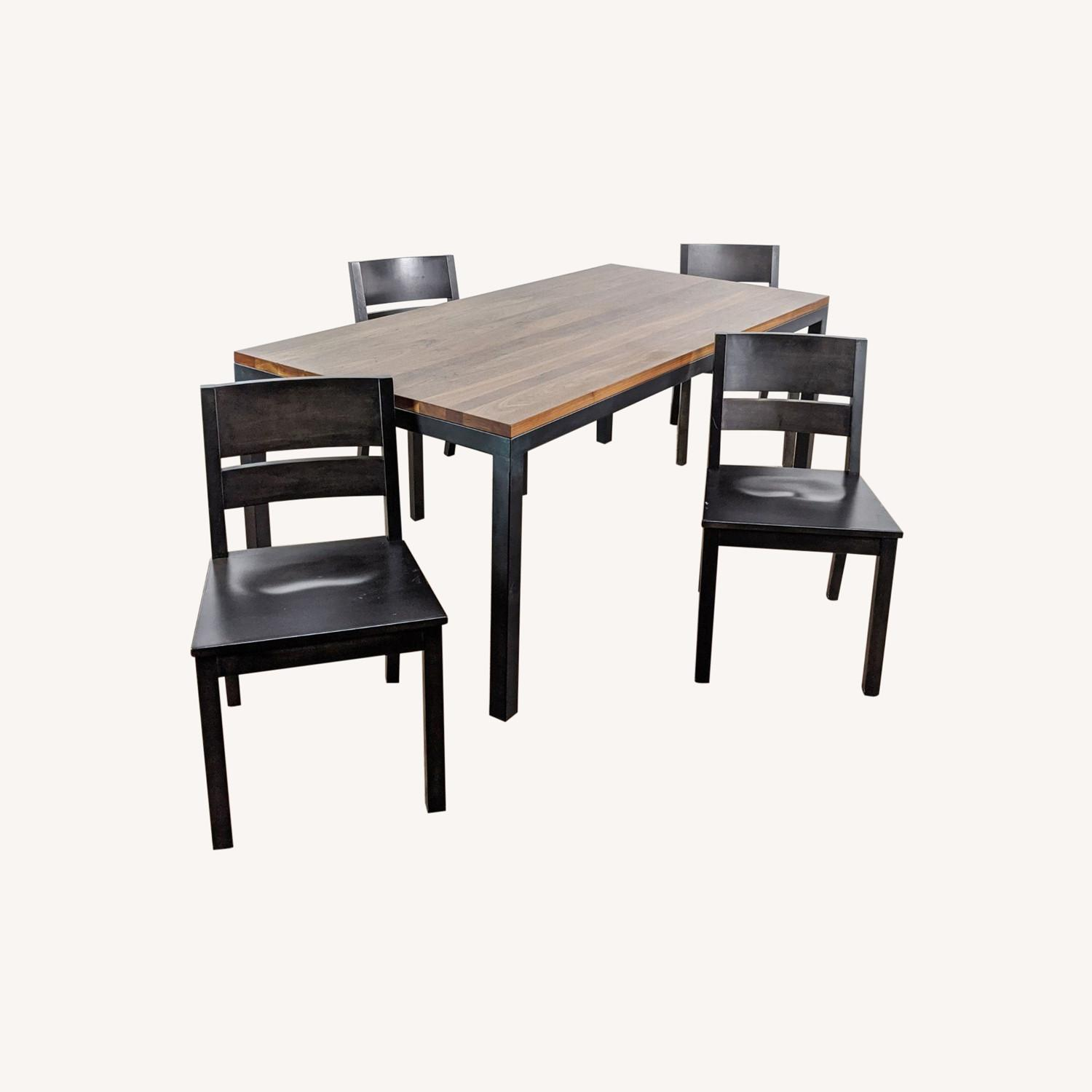 Room & Board Portica Table and Four Afton Chairs - image-0