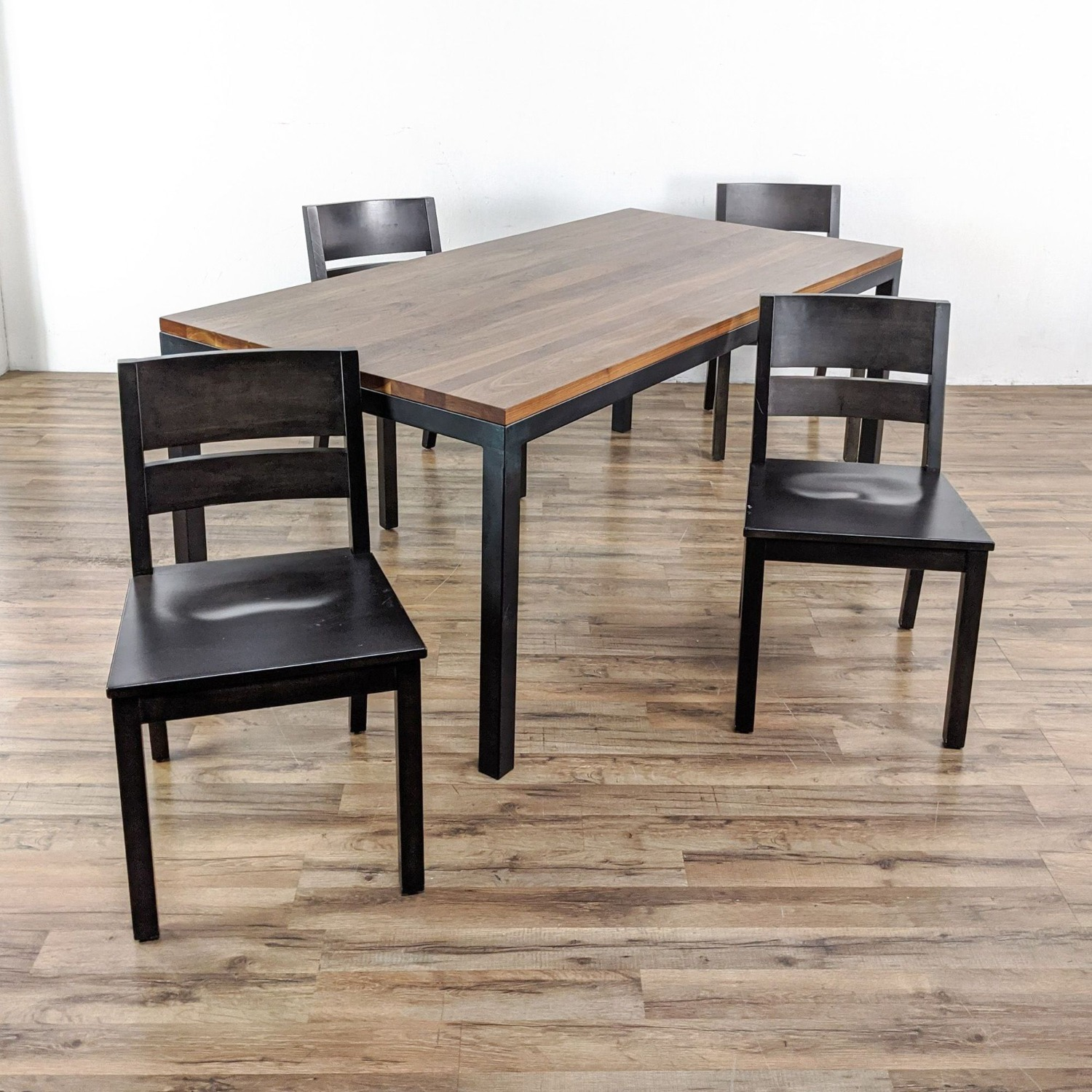 Room & Board Portica Table and Four Afton Chairs - image-5