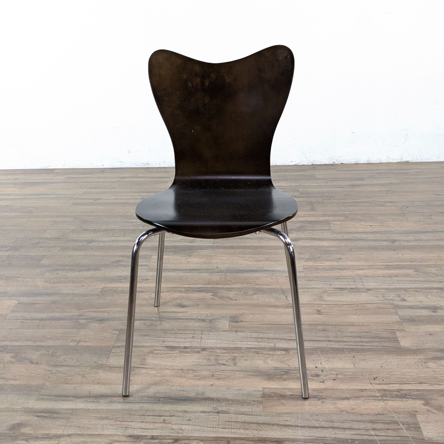 West Elm Glass Dining Table and Chairs - image-5