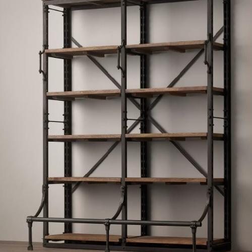 Used Restoration Hardware French Library Double Shelf for sale on AptDeco