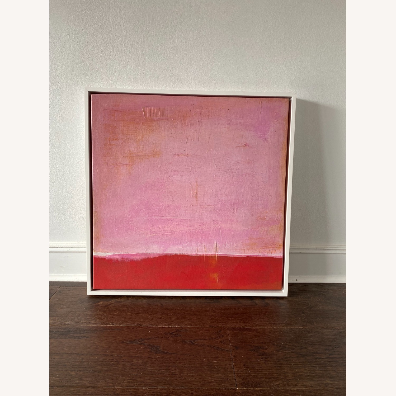 West Elm Red on Pink by Laura Gunn 24 x 24 - image-4