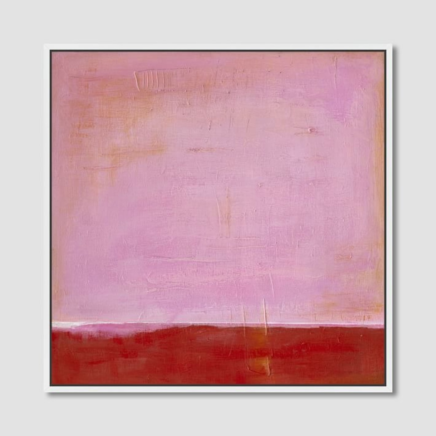 West Elm Red on Pink by Laura Gunn 24 x 24 - image-2