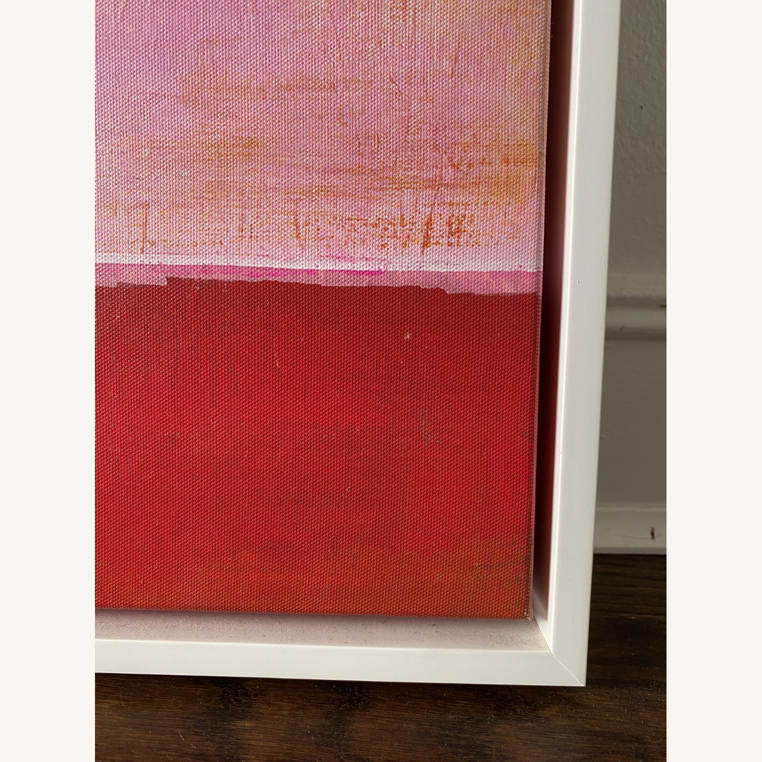 West Elm Red on Pink by Laura Gunn 24 x 24 - image-5