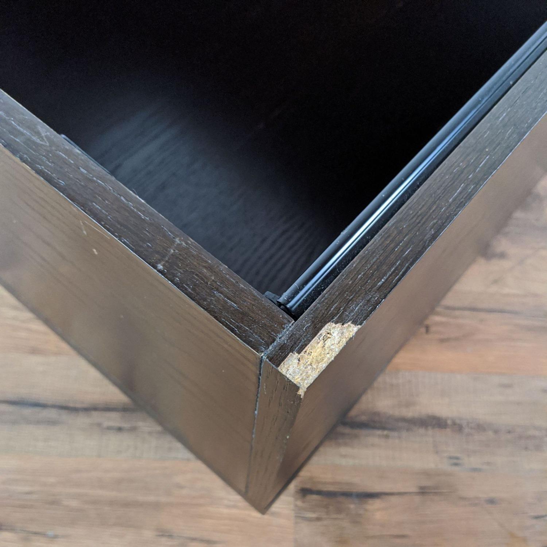 West Elm Sliding Top Storage Coffee Table - image-4