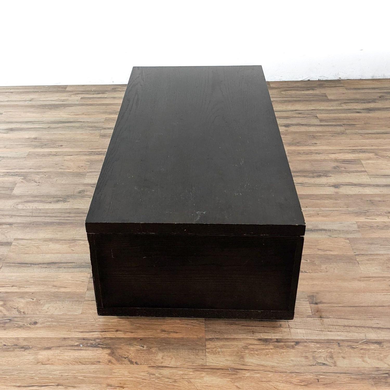 West Elm Sliding Top Storage Coffee Table - image-1