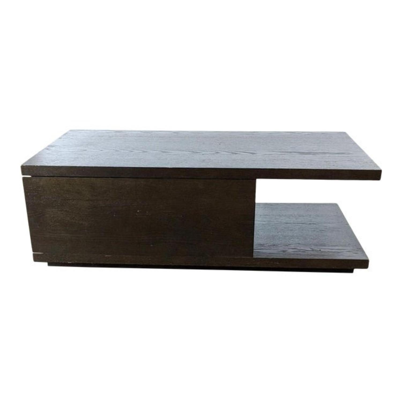 West Elm Sliding Top Storage Coffee Table - image-6