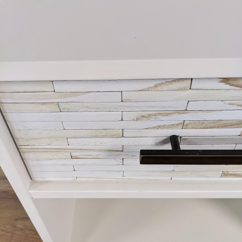 West Elm Wood Tiled Nightstand - image-5
