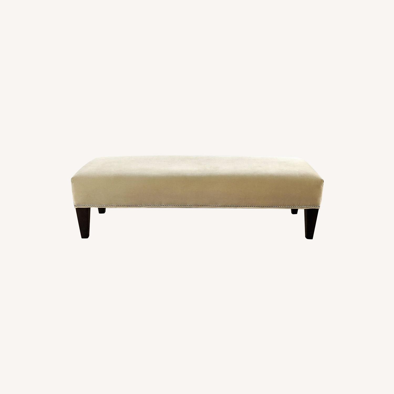 Williams Sonoma Home Upholstered Bench - image-0
