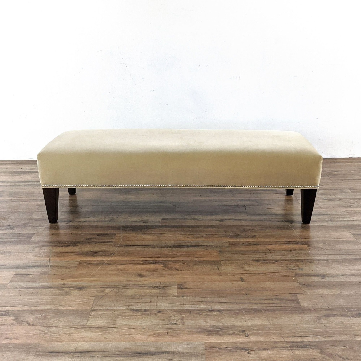 Williams Sonoma Home Upholstered Bench - image-5