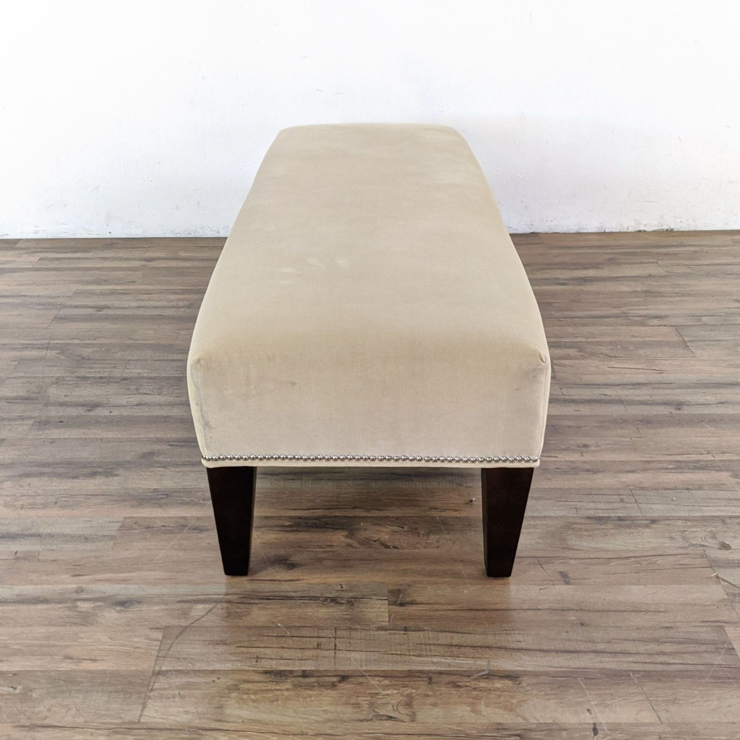 Williams Sonoma Home Upholstered Bench - image-6