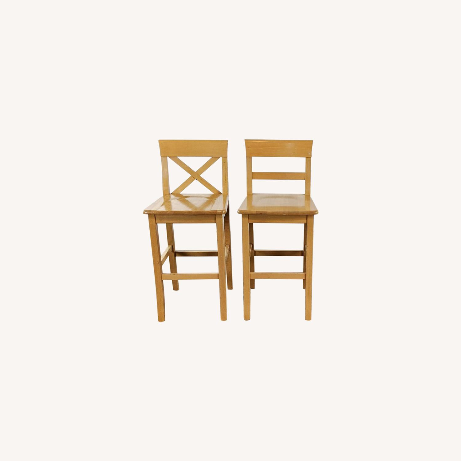 Wooden Stools - image-0