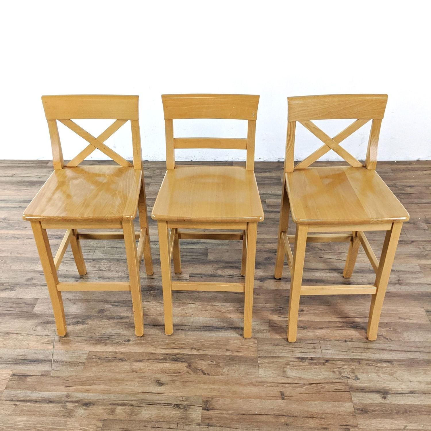 Wooden Stools - image-2