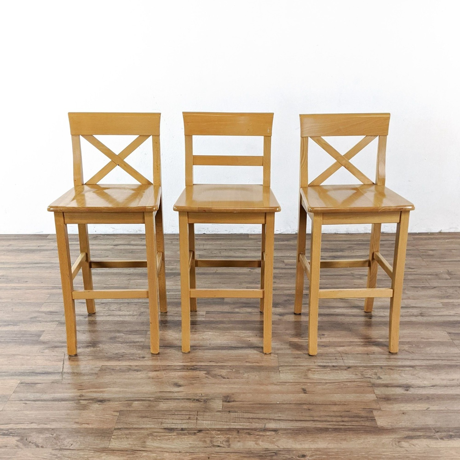 Wooden Stools - image-1