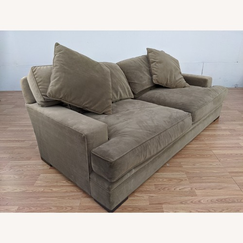 Used Z Gallerie Brown Polyester Sofa for sale on AptDeco