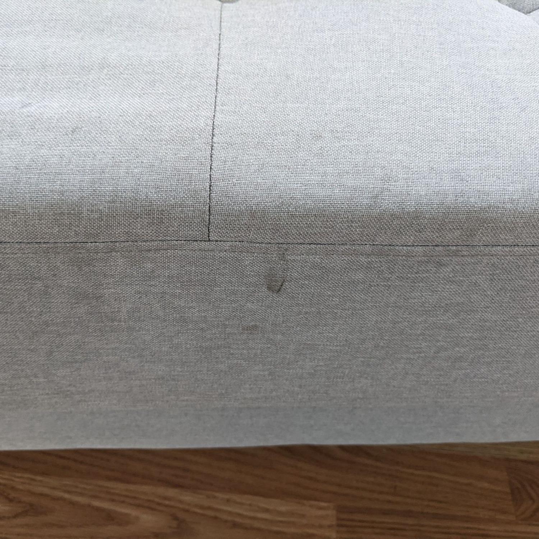 Zinus Gray Upholstered Sofa - image-6