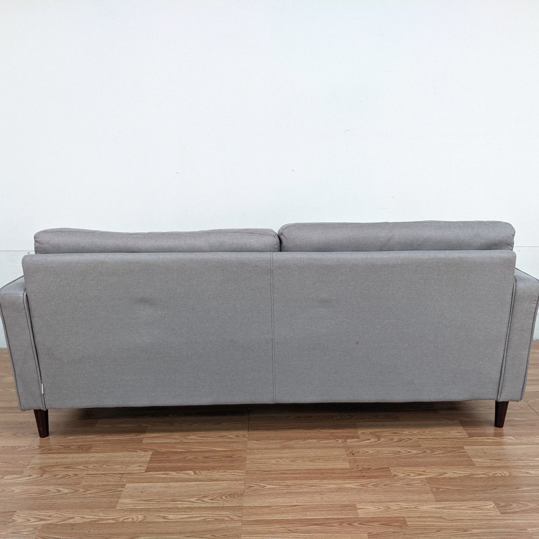 Zinus Gray Upholstered Sofa - image-3