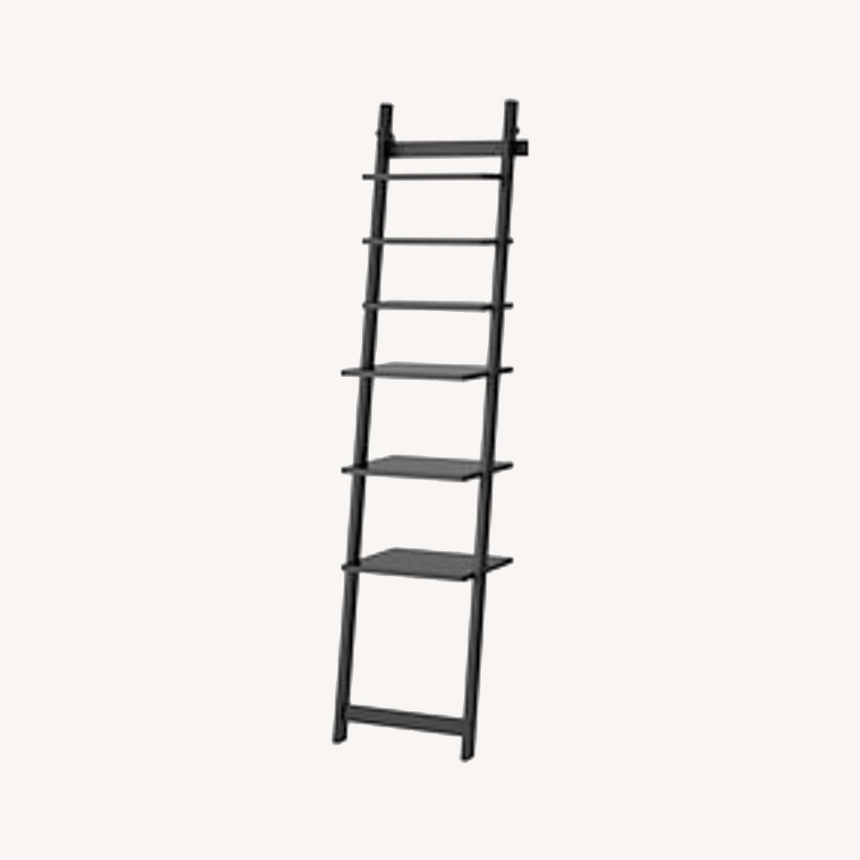 IKEA HJALMAREN Leaning Wall shelf - image-0