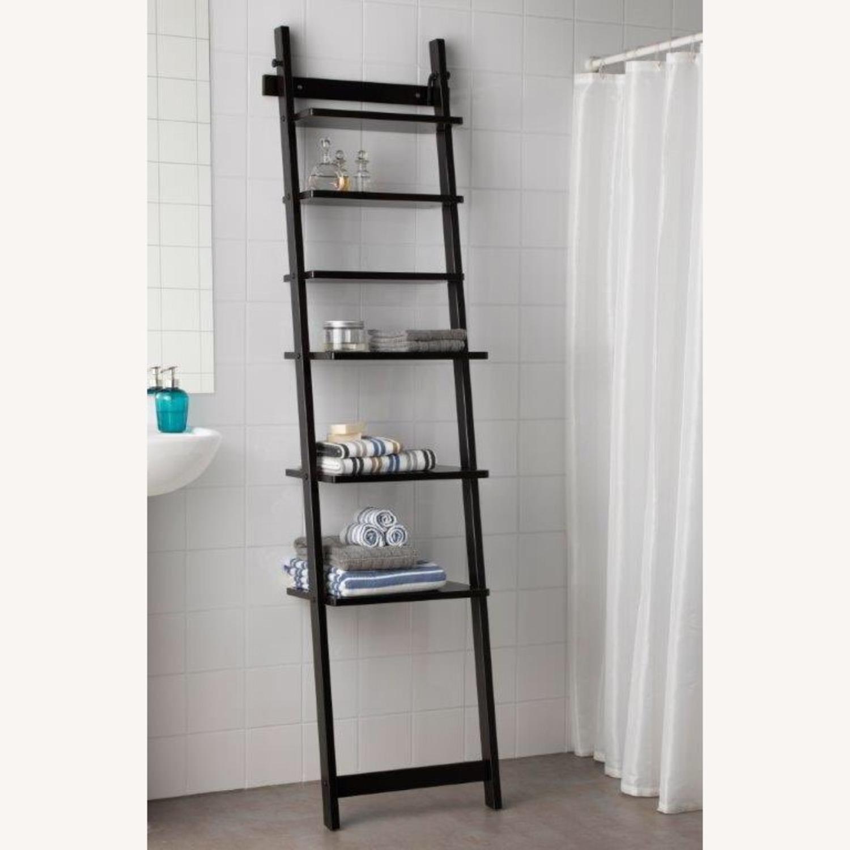 IKEA HJALMAREN Leaning Wall shelf - image-3