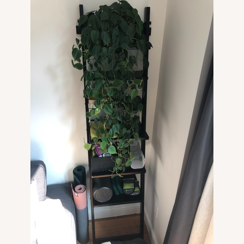 IKEA HJALMAREN Leaning Wall shelf - image-1