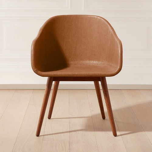 Used CB2 Venice Studio Brown Office Chair for sale on AptDeco
