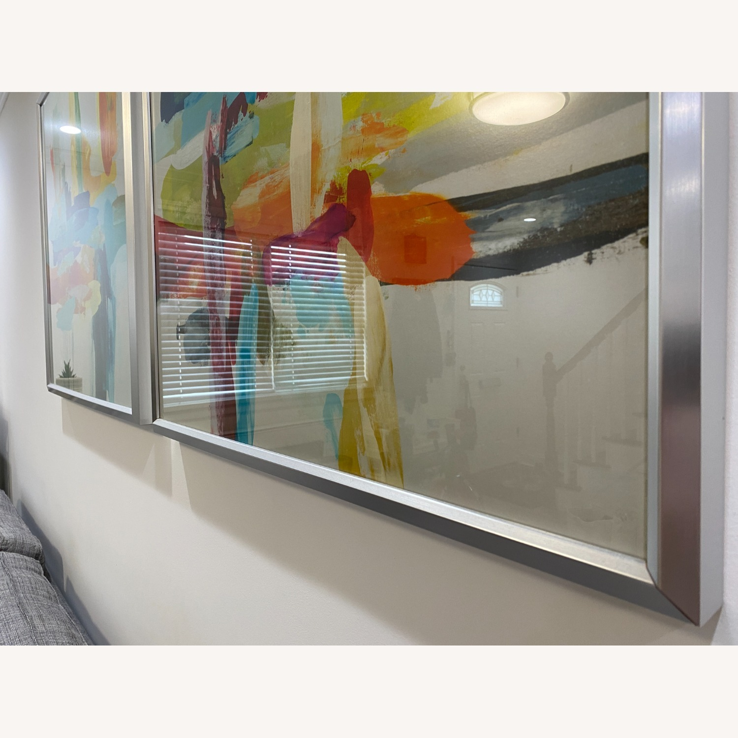 Z-Gallerie  Bold & Vibrant Wall Art: Synergy 1 & 2 - image-7