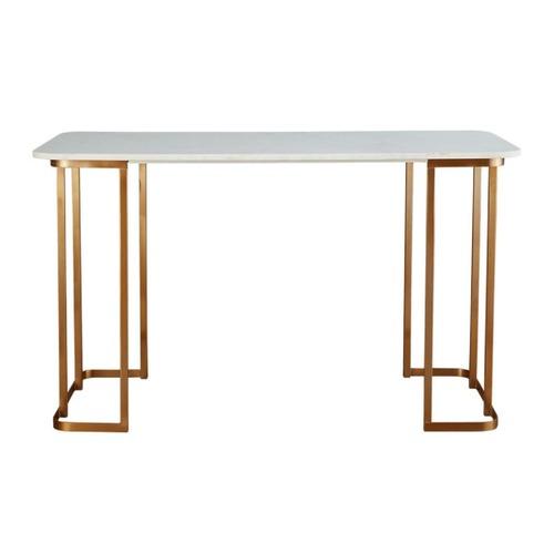 Used CB2 Dahlia Marble Desk for sale on AptDeco