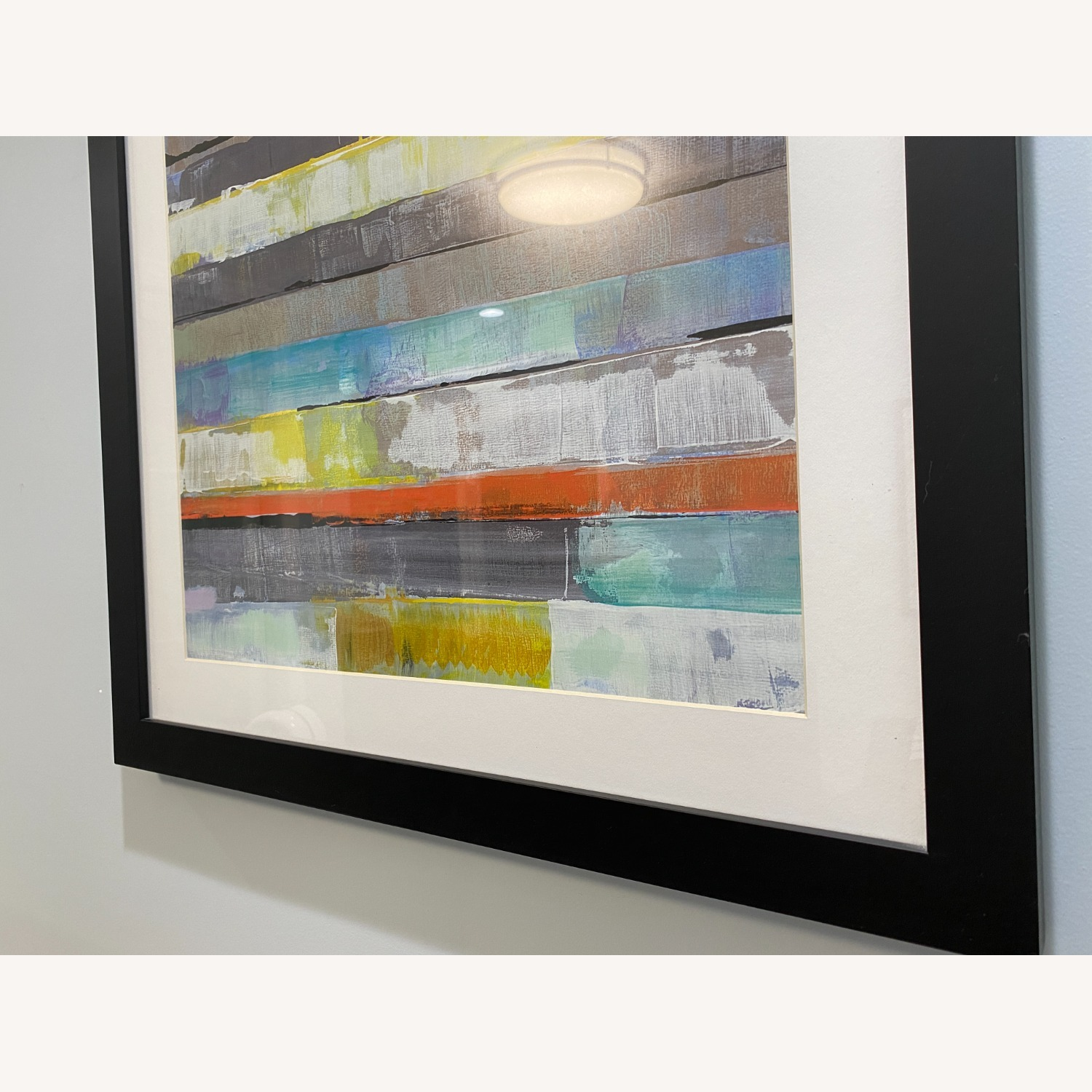Abstract Z-Gallerie Wall Art: Metro 1 & 2 - image-7