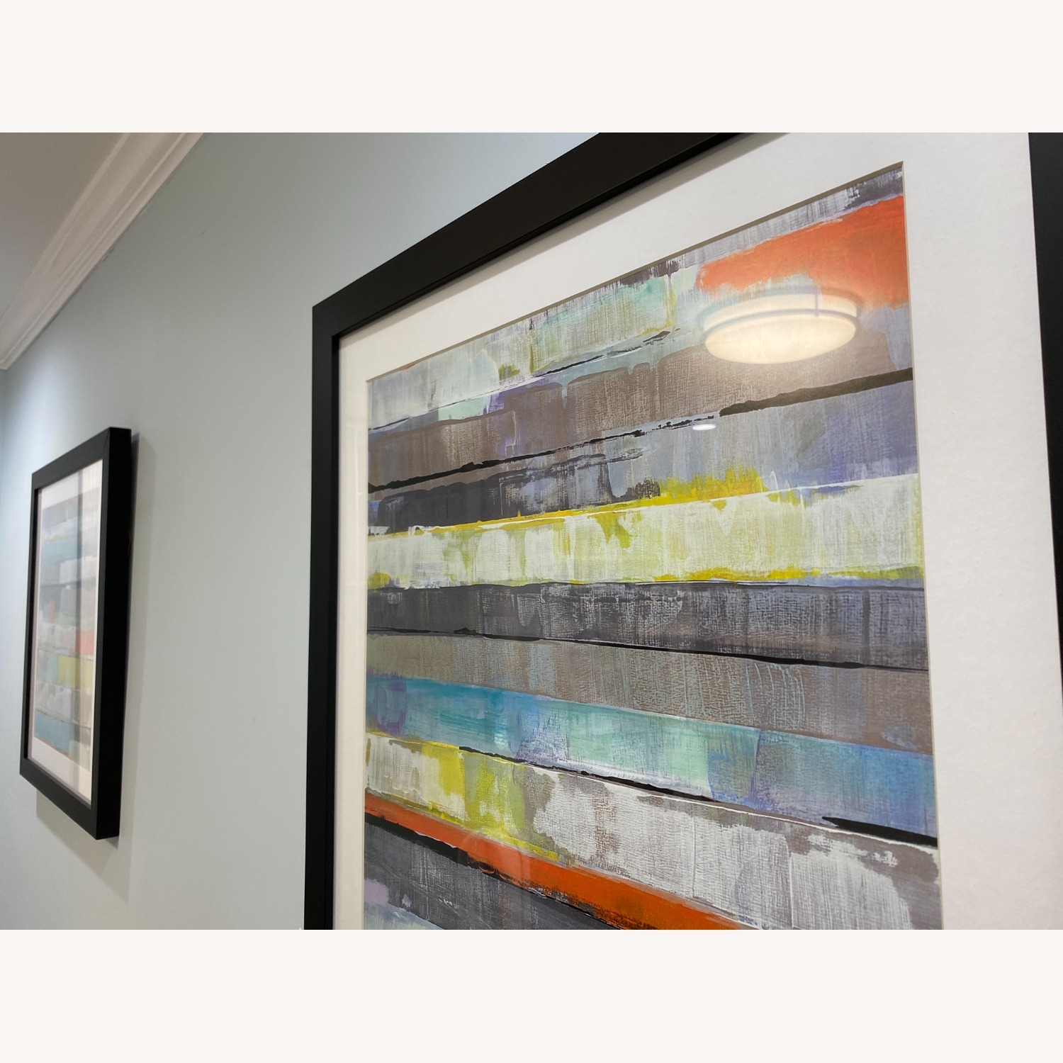 Abstract Z-Gallerie Wall Art: Metro 1 & 2 - image-8
