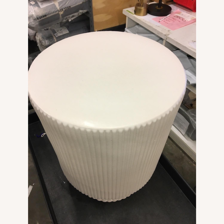 West Elm Textured Side Table - image-2