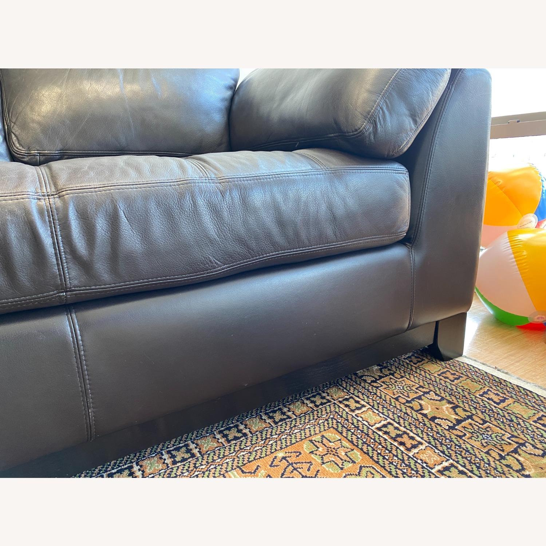 Scandinavian Designs Evelina Leather Sectional - image-5