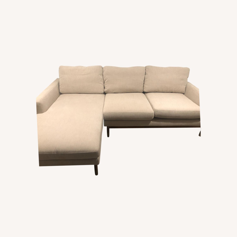 Interior Define x Jason Wu Sand Sectional Sofa - image-0