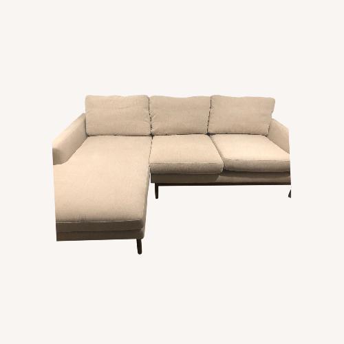 Used Interior Define x Jason Wu Sand Sectional Sofa for sale on AptDeco