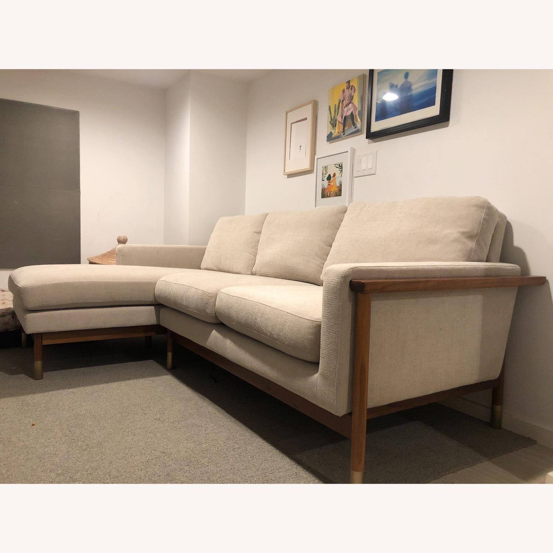 Interior Define x Jason Wu Sand Sectional Sofa - image-3
