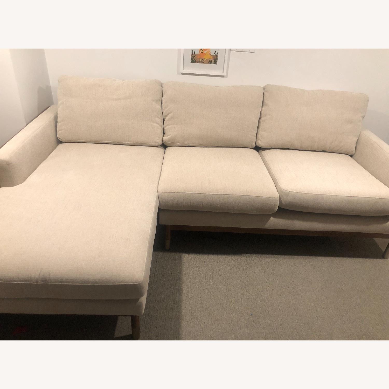 Interior Define x Jason Wu Sand Sectional Sofa - image-1