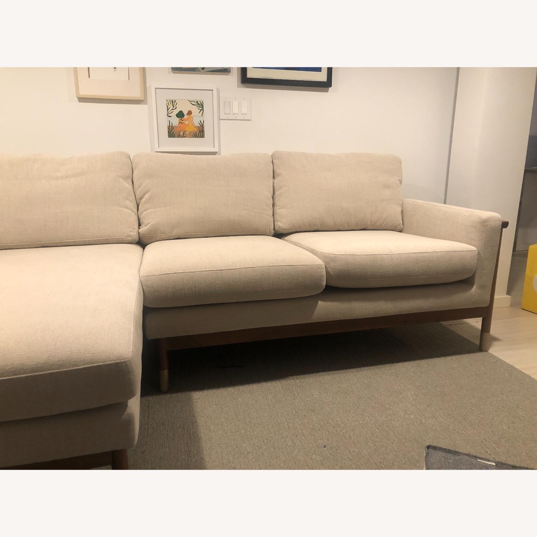 Interior Define x Jason Wu Sand Sectional Sofa - image-2