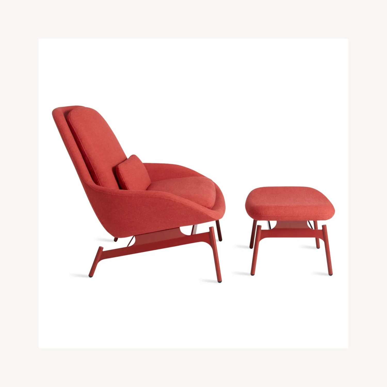 Blu Dot Field Lounge Chair and Ottoman - image-2