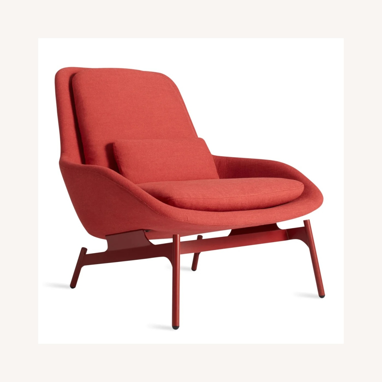 Blu Dot Field Lounge Chair and Ottoman - image-4