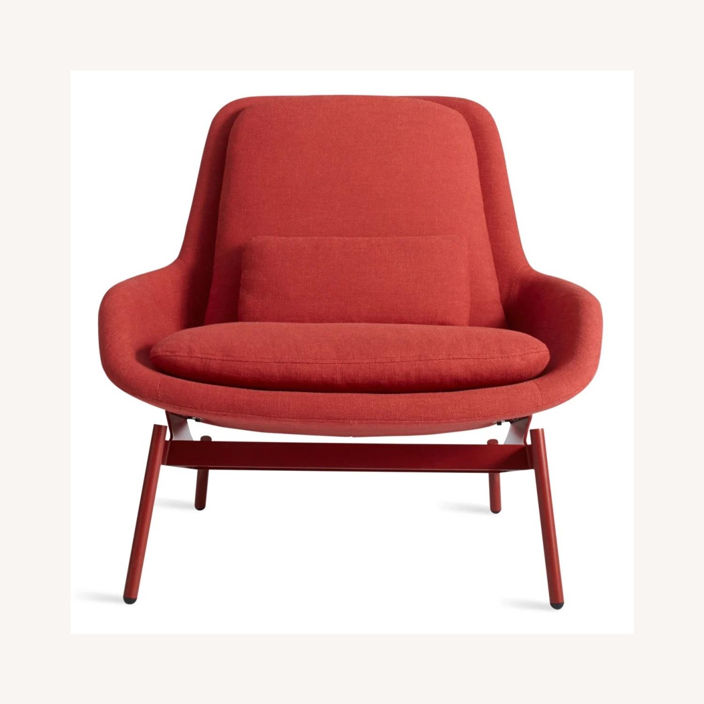 Blu Dot Field Lounge Chair and Ottoman - image-1