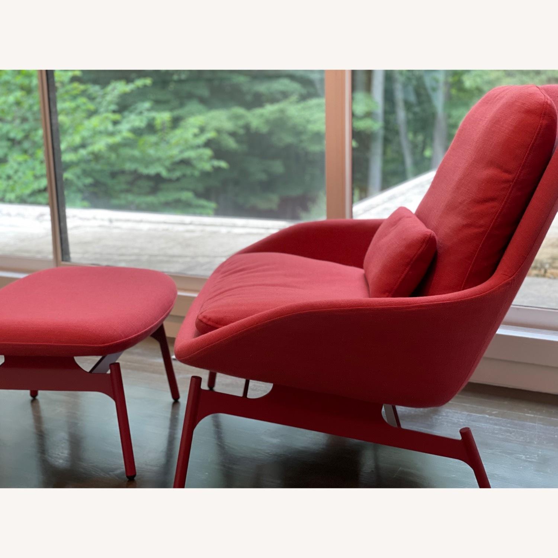 Blu Dot Field Lounge Chair and Ottoman - image-7