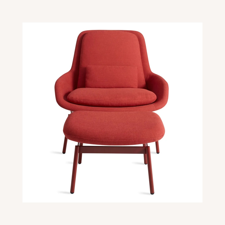 Blu Dot Field Lounge Chair and Ottoman - image-3