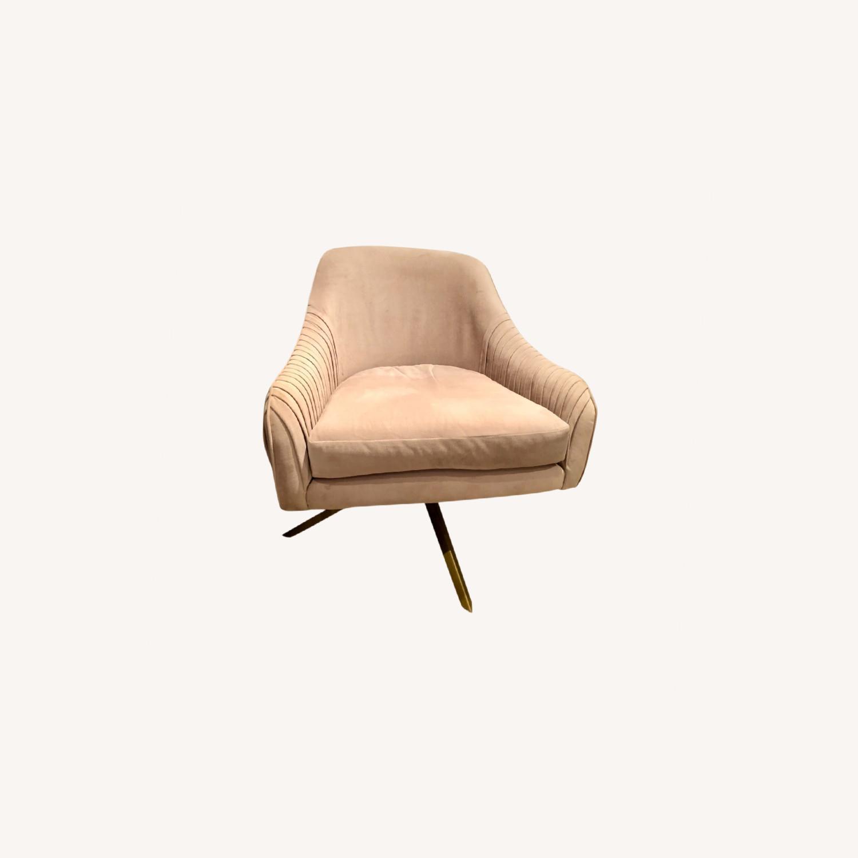 West Elm Roar Rabbit Swivel Chairs - image-0