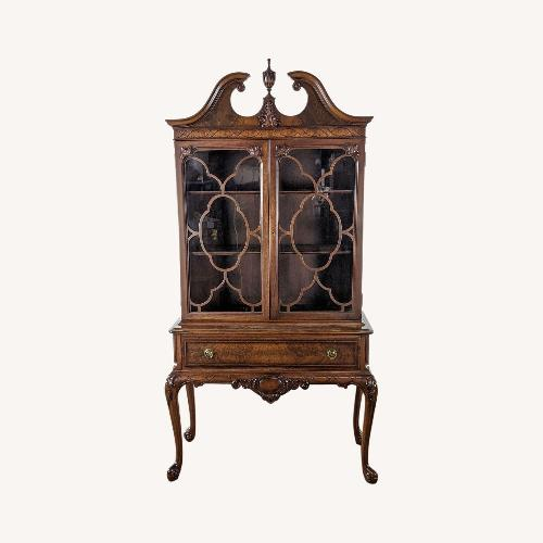 Used Vintage Berkey & Gay China Cabinet for sale on AptDeco