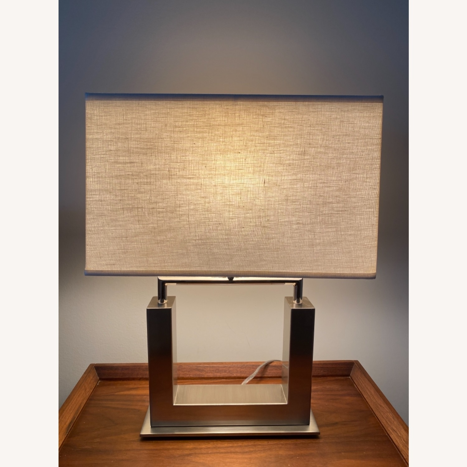 Crate & Barrel Table Lamp - image-1