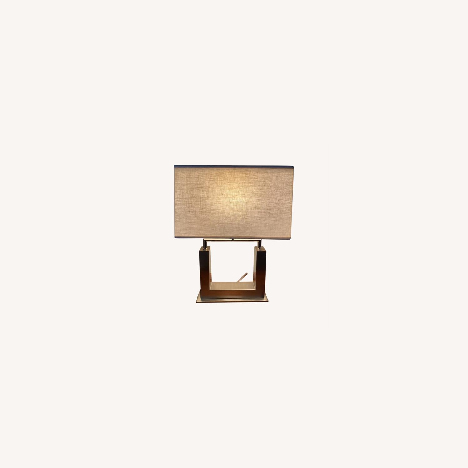 Crate & Barrel Table Lamp - image-0